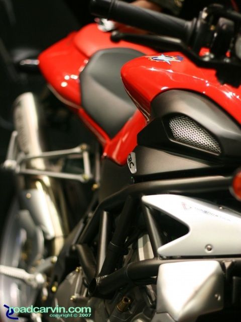 2007 Cycle World IMS - 2008 MV Agusta Brutale 910S