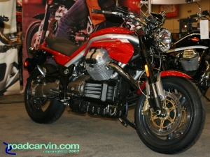 2007 Cycle World IMS - 2008 Moto Guzzi Griso 1100