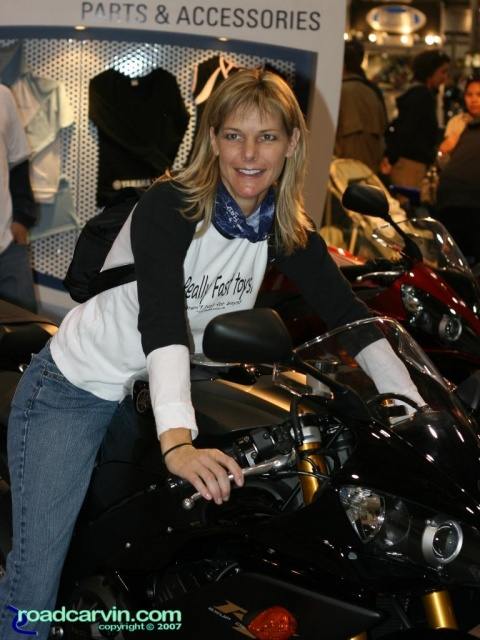2007 Cycle World IMS - 2008 Yamaha R1 - Woman Rider