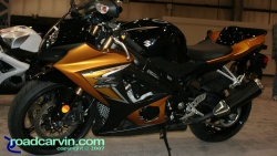 2007 Cycle World IMS - 2008 Suzuki GSX-R1000 Gold/Black Side