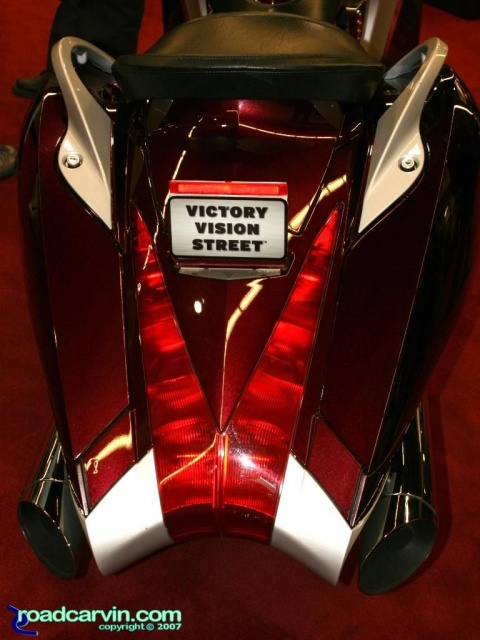2007 Cycle World IMS - 2008 Victory Vision Street - Rear