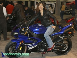 2007 Cycle World IMS - 2008 Yamaha R1 Girl