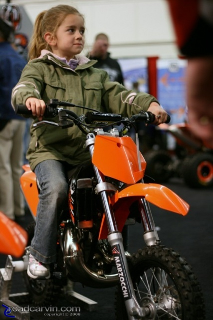 Kids love KTM dirt bikes (II)