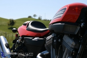 2009 Harley-Davidson Sportster XR1200 - Tank and Seat Close-up