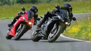 2009 Triumph Daytona 675 - Tornado Red & Jet Black