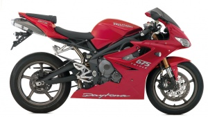 2009 Triumph Daytona 675 -- Right Side