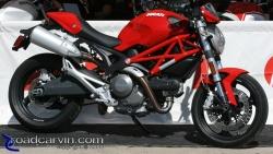 2009 Ducati Monster - 1100 Side View