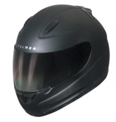 Fulmer S1 full-face helmet in flat black