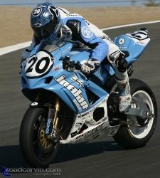 2008 AMA Finale - Aaron Yates - Corkscrew Wheelie
