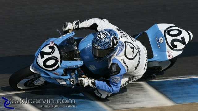 2008 AMA Finale - Aaron Yates - Superstock Turn 8