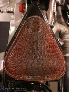 2008 Arlen Ness Bike Show - Alligator Seat