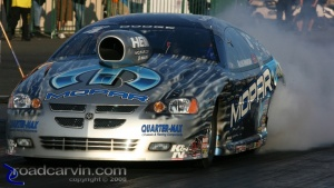 2008 Infineon NHRA - Allen Johnson - Burnout