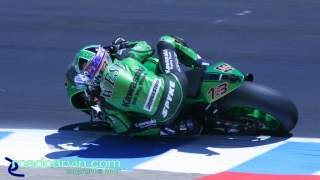 2007 Red Bull U.S. Grand Prix MotoGP - Anthony West II: Anthony West, Kawasaki Racing Team.