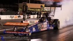 2009 Fram Autolite NHRA Nationals - Antron Brown - Burnout