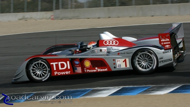 2008 Monterey Sports Car Championship - Albers/Pirro - Turn 8