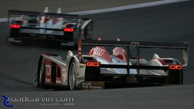 2008 Monterey Sports Car Championships - Audi Sport - Turn 8a