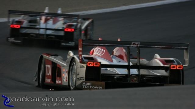 2008 Monterey Sports Car Championships - Audi Sport - Turn 8a