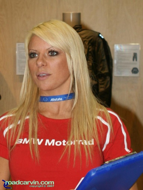 2007 Cycle World IMS - BMW Motorrad Girl (II)