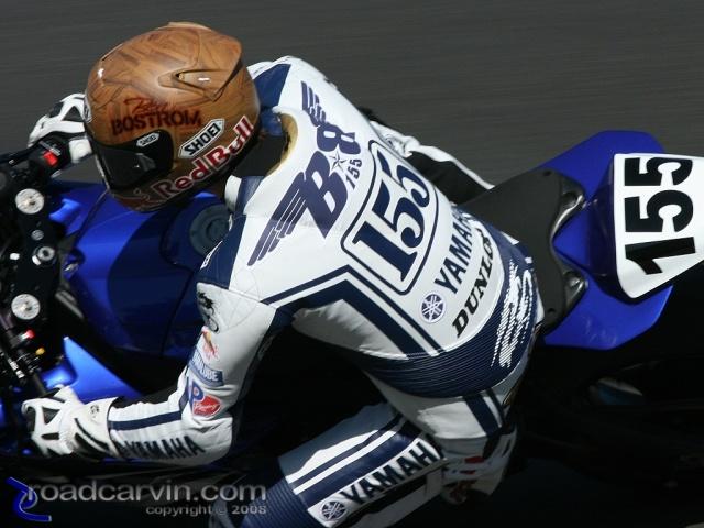 2008 MotoGP - Ben Bostrom - Friday Practice
