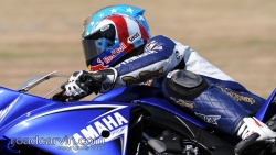 2009 Infineon AMA - American Superbike - Ben Bostrom Close-up
