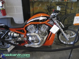 Harley-Davidson V-Rod VRXSE - Side