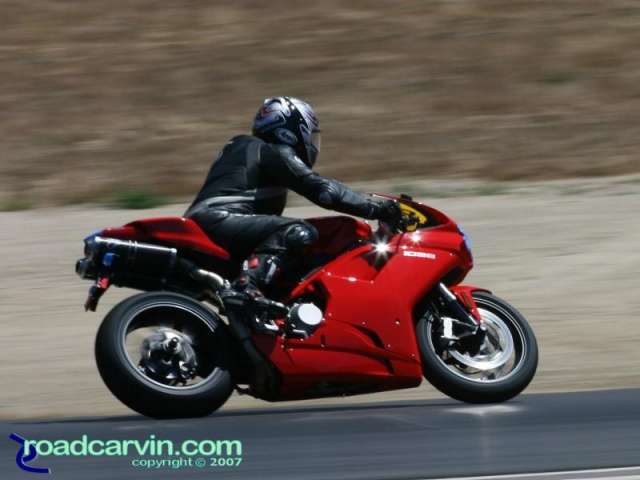 California Superbike School - Red Ducati 1098 (II)