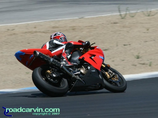 California Superbike School - Red Kawasaki Ninja