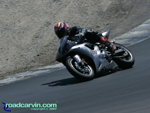California Superbike School - Silver Yamaha R1