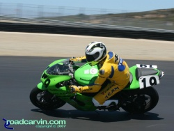 California Superbike School - The Doctor on a Kawasaki?