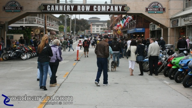 2008 MotoGP - Cannery Row - Street View
