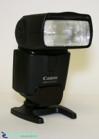 Canon 430EX Speedlite - E-TTL II Shoe Mount Flash: The Canon 430EX Speedlite is a full featured E-TTL II flash designed for Canon EOS cameras. It can be used as an on-camera flash or part of a wireless flash system.