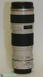 Canon EF 70-200 f/4 L - Telephoto Zoom Lens w/Extender 1.4x II