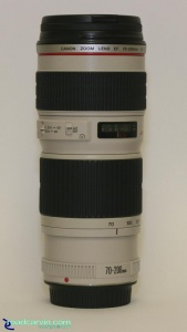 Canon EF 70-200 f/4 L - Telephoto Zoom Lens: for Canon EOS cameras.