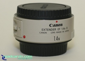 Canon Extender EF 1.4X II - Telephoto Extender: The latest telephoto extender designed to work with Canon EOS cameras and and specific telephoto and zoom lenses.