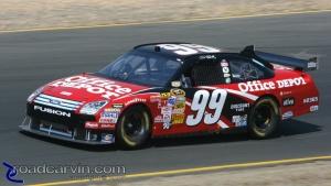2008 NASCAR - Infineon Raceway - Carl Edwards Turn 3