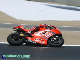 2007 Red Bull U.S. Grand Prix - Casey Stoner: Casey Stoner rode great all weekend and his Ducati performed flawlessly.