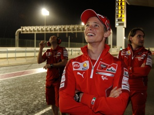 Casey Stoner: Photo courtesy of Ducati Team, all rights reserved.