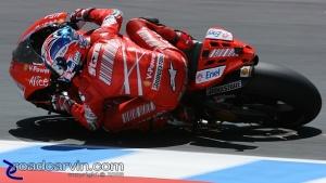 2008 MotoGP - Casey Stoner - Friday Practice