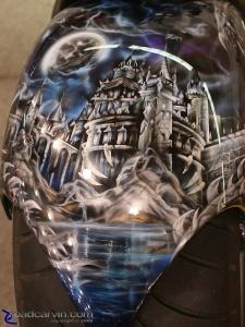 2008 Arlen Ness Bike Show - Castle - Fender