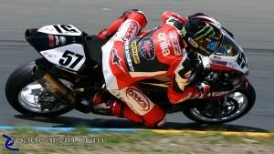 2009 Infineon AMA - Daytona SportBike - Chaz Davies - Turn 4
