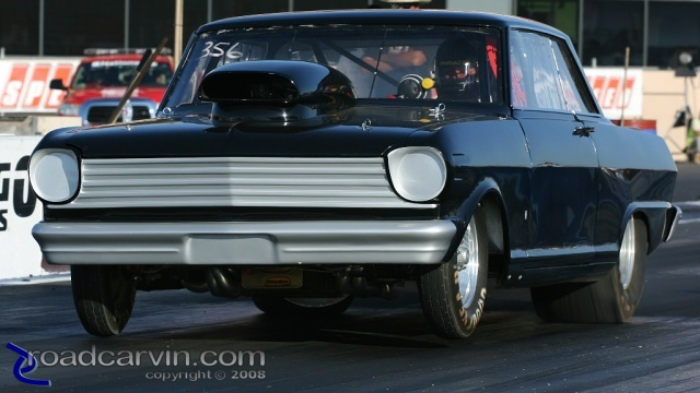 2008 Pinks All Out - 1963 Chevy II - Wheelie