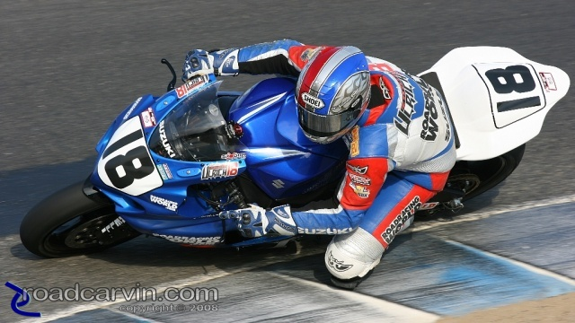 2008 AMA Finale - Chris Ulrich - Superstock Turn 8