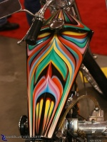 Coffin Tank: The paint on this coffin tank really highlights the shape.