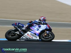 2007 Red Bull U.S. Grand Prix - Colin Edwards - Turn 2