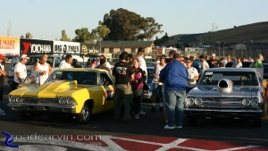 Contestants in Staging Lanes