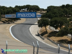 Laguna Seca - A Look Back - Corkscrew Bottom Now