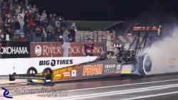 2009 Fram Autolite NHRA Nationals - Cory McClenathan - Burnout