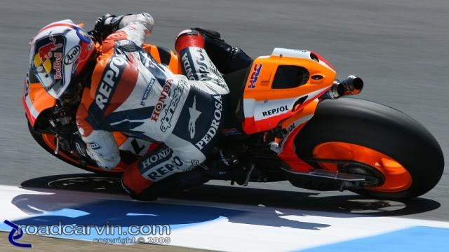 2008 MotoGP - Dani Pedrosa - Friday Practice