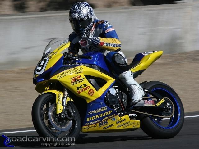2008 MotoGP - Danny Eslick - Friday Practice