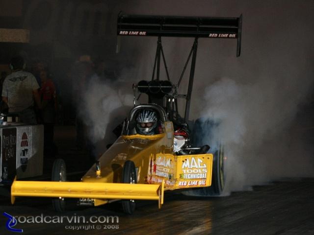 2008 Infineon NHRA - Dave Grubnic - Friday Night Burnout